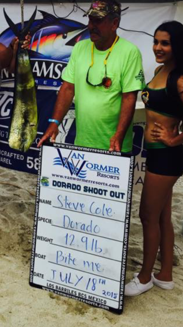 Dorado shoot out 2015